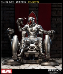 Sideshow - Classic Ultron on Throne Comiquette Statue