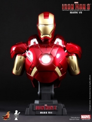 Hot Toys - 1/4 Scale Iron Man 3 - Mark VII Collectible Bust