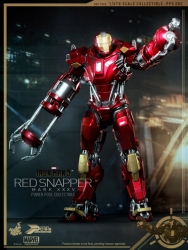 Hot Toys - 1/6 Scale Iron Man 3 - Power Pose Mark XXXV (35) Red Snapper Collectible Figure