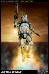 Sideshow - Star Wars 1/6 Scale Clone Commander Wolffe Action Figure