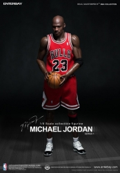 Enterbay - 1/6 Scale - Michael Jordan Series 1 - #23 Road Version Collectible Figure