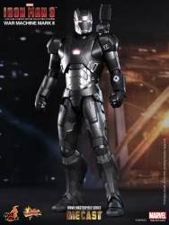 Hot Toys - 1/6 Scale Iron Man 3 - War Machine Mark II Collectible Figure