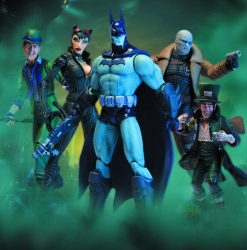 DC Direct - Batman Arkham City Series 2 Action Figure Set of 5