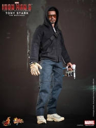 Hot Toys - 1/6 Scale Iron Man 3 - Tony Stark (The Mechanic) Collectible Figure