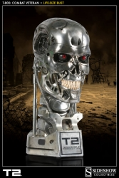 Sideshow - Terminator 2 - T-800 (Combat Veteran) Life-Size Bust