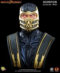 Pop Culture Shock - Mortal Kombat - Scorpion Life-Size Bust