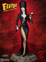 Sideshow - Elvira - Elvira Mistress of the Dark Statue