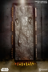 Sideshow - Star Wars - Han Solo in Carbonite Life-Size Figure
