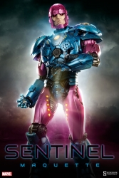 Sideshow - Marvel Collectibles - Sentinel Maquette Statue