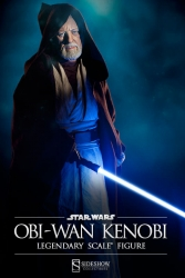 Sideshow - Star Wars Collectibles - Obi-Wan Kenobi Legendary Scale(TM) Figure
