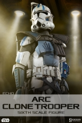 Sideshow - Star Wars Collectibles - Arc Clone Trooper Echo Phase II Armor1/6 Scale Action Figure