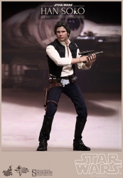 Hot Toys - 1/6 Scale Star Wars Collectibles - Han Solo Action Figure