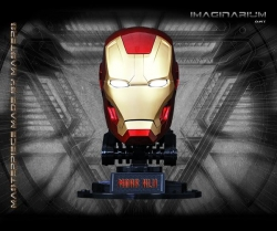 Imaginarium Art - Iron Man Mark 42 Helmet Life-Size Prop Replica