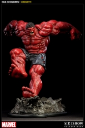Sideshow - Red Hulk  Comiquette Statue (Sideshow Retailer Exclusive)