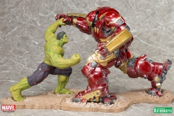 Kotobukiya - Avengers Age of Ultron Iron Man Hulkbuster vs Hulk ARTFX+ Set