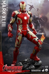 Hot Toys - 1/4 Scale Avengers Age of Ultron - Iron Man Mark XLIII Collectible Figure
