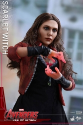 Hot Toys - 1/6 Scale Avengers Age of Ultron - Scarlet Witch Collectible Figure