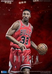 Enterbay - 1/6 Scale - Real Masterpiece NBA - Scottie Pippen Collectible Figure