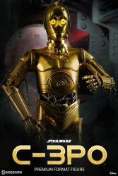 Sideshow - Star Wars Collectibles - C-3PO Premium Format Statue