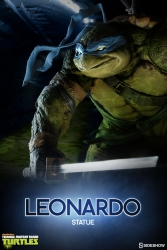 Sideshow - Teenage Mutant Ninja Turtles - Leonardo Statue