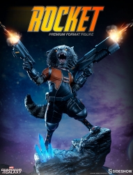Sideshow - Marvel Collectibles - Rocket Raccoon Premium Format Statue