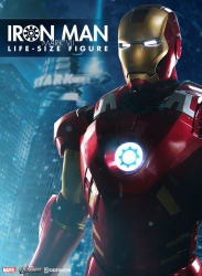 Sideshow - Marvel Collectibles - Iron Man Mark VII Life-Size Figure