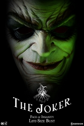 Sideshow - DC Collectibles - The Joker Face of Insanity Life-Size Bust