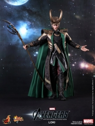 Hot Toys - 1/6th scale The Avengers Loki Limited Edition Collectible Figure