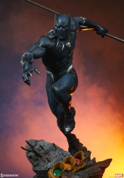 Sideshow - Marvel Collectibles - Black Panther Statue