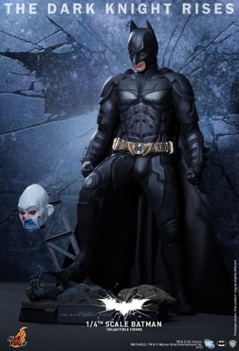 Hot toys 14 scale the dark knight rises batman collectible figure voltagebd Images