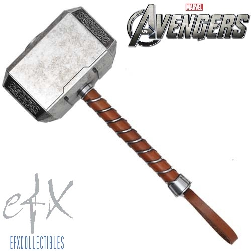 Efx Collectibles Avengers Thor Mjolnir Hammer Prop