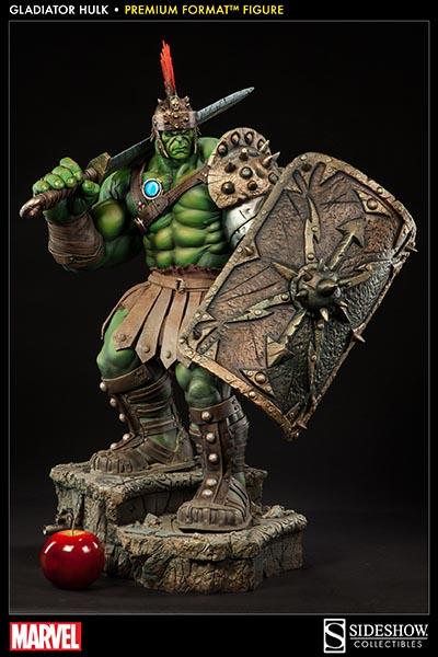 sideshow marvel comics gladiator hulk premium format