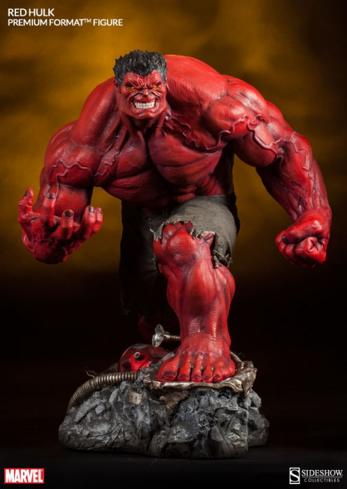 Sideshow Marvel Collectibles Red Hulk Premium Format