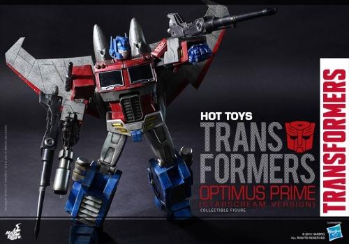 Hot Toys Transformers G1 Optimus Prime Starscream
