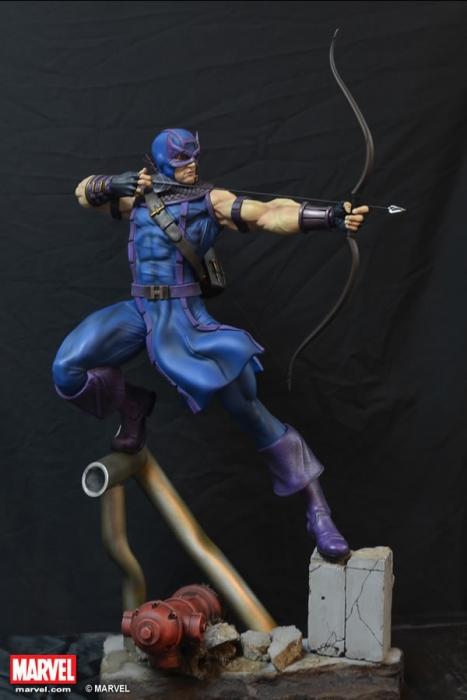Xm Studios Marvel Comics Hawkeye Premium Collectibles