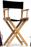 ACI Toys - 1/6 Scale Wild Toys Director Chair & Accessories Set Black Color