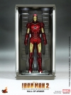 Hot Toys - 1/6 Scale Iron Man 2 - Hall of Armor Collectible (Set of 4)
