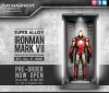 Play Imaginative - Super Alloy 1/6 Scale Iron Man Mark VII E Collectable Figure