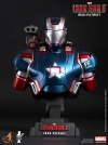 Hot Toys - 1/4 Scale Iron Man 3 - Iron Patriot Collectible Bust