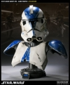 Sideshow - Star Wars - 501st Legion Vader's Fist - Clone Trooper Life-Size Bust