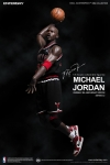 Enterbay - 1/6 Scale - NBA Collection - Michael Jordan (Series 2) #23 Black Jersey Limited Edition Collectible Figure