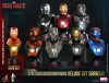 Hot Toys - Iron Man 3 - 1/6 Scale Collectible Bust Series II Deluxe Set