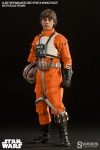 Sideshow - Star Wars Collectibles - Luke Skywalker Red Five X-wing Pilot 1/6 Scale Action Figure