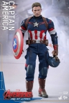 Hot Toys - 1/6 Scale Avengers Age of Ultron - Captain America Collectible Figure
