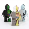 Mighty Jaxx - Micro Anatomic by Jason Freeny Set of 3