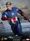 Hot Toys - 1/6th scale The Avengers Captain America Limited Edition Collectible Figurine