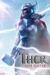 Sideshow - Marvel Collectibles - Thor Jane Foster Premium Format Statue