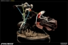 Sideshow - Shaak Ti VS General Grievous Polystone Diorama