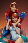Sideshow - Marvel Collectibles - Spider-Man and Mary Jane Maquette Statue