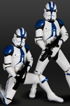 Kotobukiya - ArtFX Star Wars Clone Trooper 501st Legion Two Pack Limited Edition